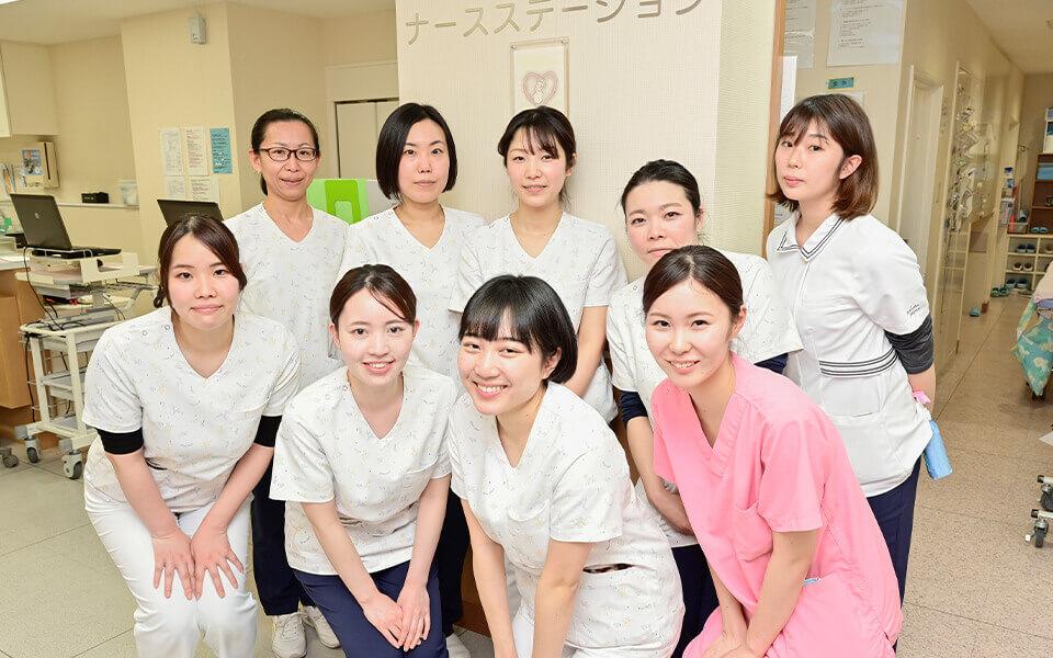 2Fフロアの看護部1