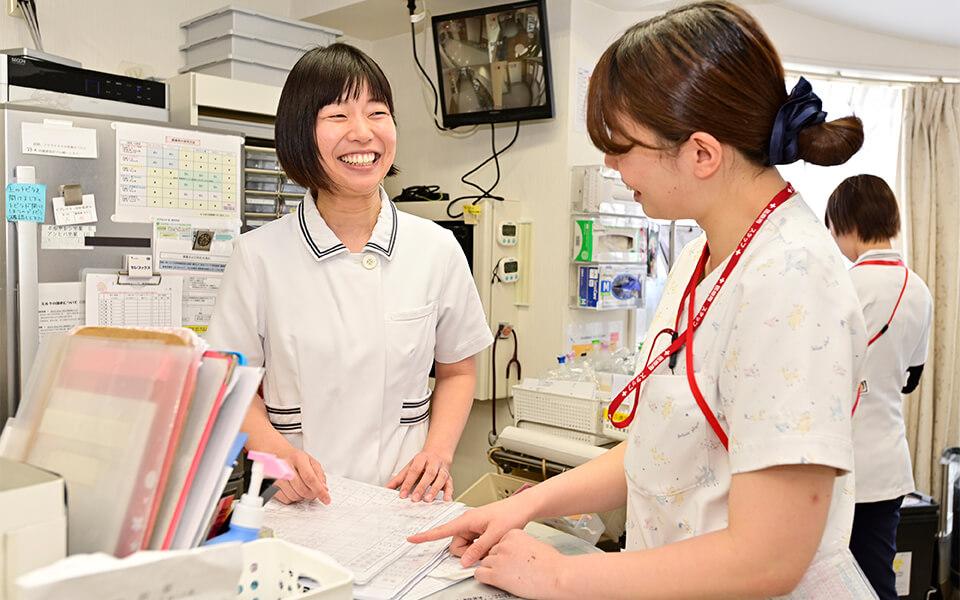 二人の看護師